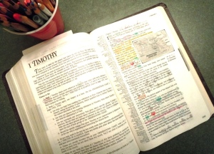 Marked-Up Bible